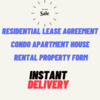 Thumbnail Residential Lease Agreement Condo Apartment House Rental